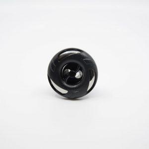 65 mm munstycke svart lock 2-puls stråle
