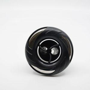 89 mm munstycke svart lock 2-puls stråle
