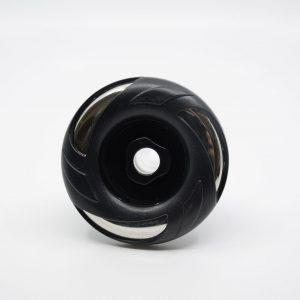 89 mm munstycke svart lock fast stråle